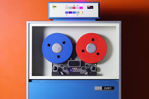 Love Hulten's quirky storage cabinet is inspired by IBM's Magnetic Tape Unit from the 60s!