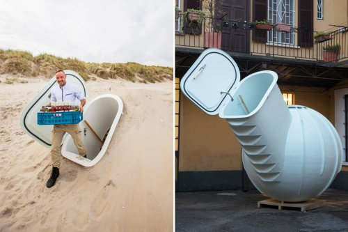 A sustainable underground fridge + more product designs to help you lead that zero waste lifestyle!