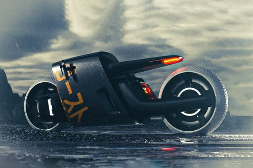 The Japanese-inspired Ghost Superbike is a Beast! Really!