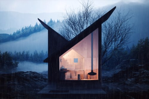 Cabins with eco-friendly designs to help you feel at one with nature!