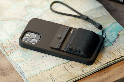 Sleek MagSafe-compatible accessory turns your iPhone into a nifty DSLR camera with precise, tactile controls