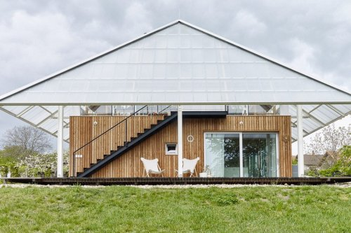 Greenhouses that promote sustainable urban farming + push the boundaries of innovative architecture!