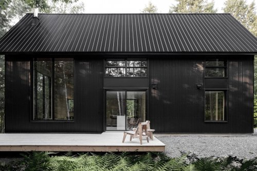 All black architectural designs that will inspire you to adapt this modern minimal trend!