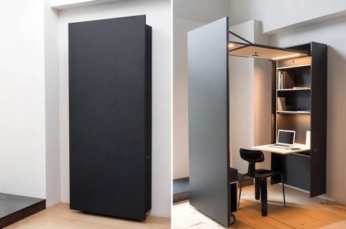 Creative Cabinets designed to be more than just storage solutions for your modern tiny homes!