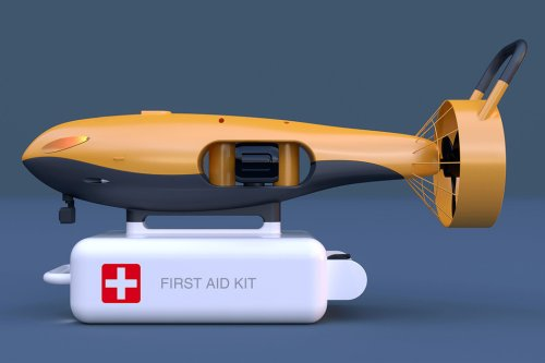 Whale-inspired underwater drone can carry out rescue operation where humans can't reach!
