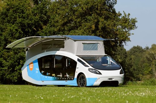 This solar-powered camper is all set for 3,000 km journey through Europe