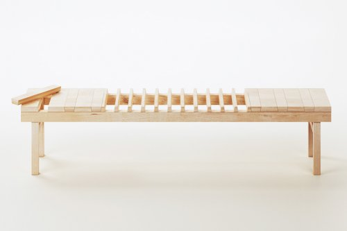 A detailed Scandinavian-inspired bench design that adapts to life in the post-quarantine normal