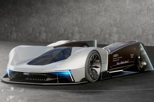 Audi Skeleton race car inspired by bobsleds is designed to appease your inner daredevil!