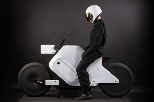 This shape-shifting bike morphs seating configuration depending on the rider's posture