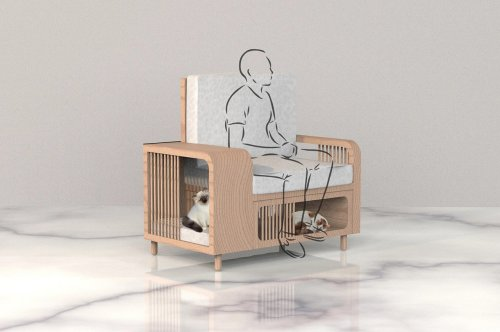 This luxurious pet-friendly furniture collection is designed to be the best investments for your cats!