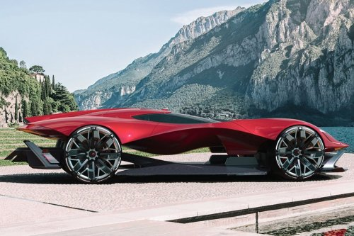 Maserati Neptune electric supercar is perfect ride of choice for the movie I, Robot's sequel!