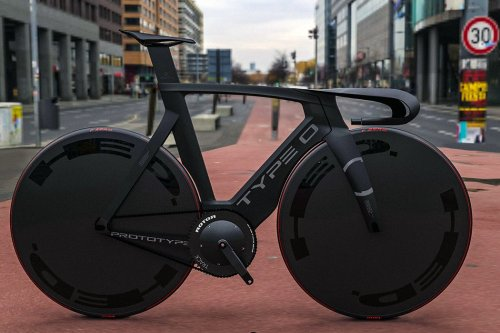 This racing bicycle + urban commuter is the eco-friendly ride Batman would love!