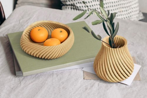Can you 3D print wood? Yves Behar's line of decor uses 3D printed wood that's as good as the original