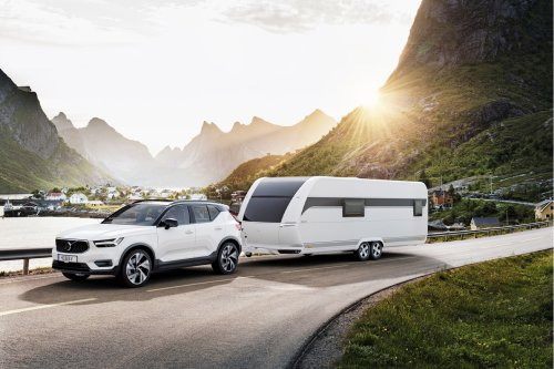 This Scandinavian-inspired caravan designed for a minimal mobile lifestyle gives the ultimate outdoor experience!