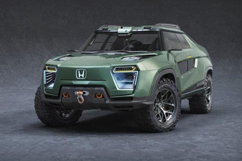 Honda's INSANE electric pickup truck concept will have the Tesla Cybertruck begging for mercy