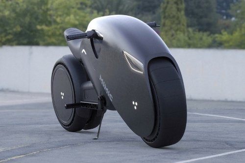 If MARVEL's Black Panther ever rode a motorbike, this would probably be it.