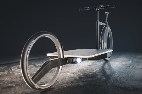 A modular electric cargo bike to glide your load through city centers in environmentally-friendly manner