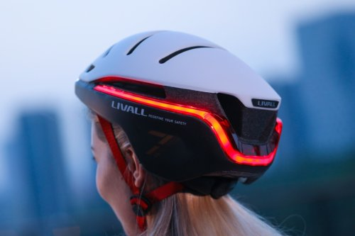 This innovative smart helmet doesn't just protect you from accidents, it prevents them altogether