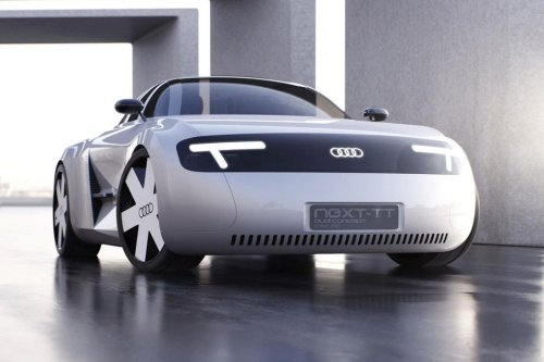 This Audi NEXT TT 2021 concept goes back to its 1998 Mk1 roots with a 'friendly' curved design