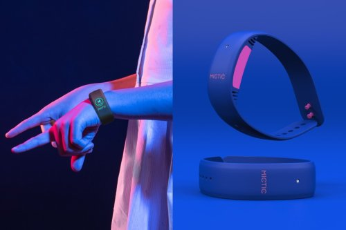 This wearable wristband lets you play any musical instrument you want by moving your hands in the air!