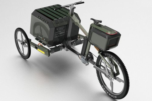 This stable cargo ebike with robust frame and ample boot space amplifies your outdoor experience!