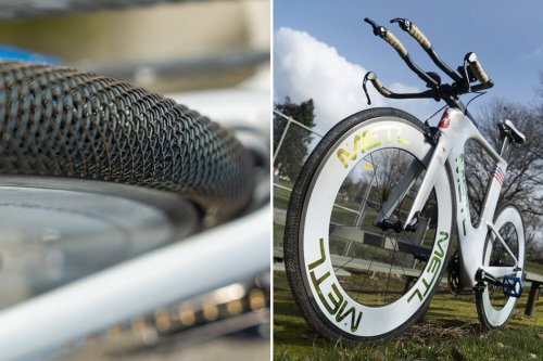 Bike tires that last a lifetime without any puncture or degradation are inspired by NASA's rover technology