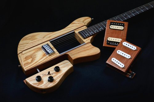 You've heard of Modular Synthesizers, but wait till you check out this Modular Electric Guitar…