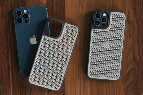 This iPhone case gives your smartphone the Apple Mac Pro 'cheesegrater' texture