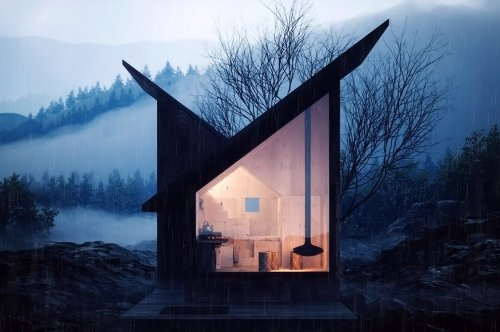 Wooden Architectural Designs functioning as sustainable + warm homes that will never go out of trend!