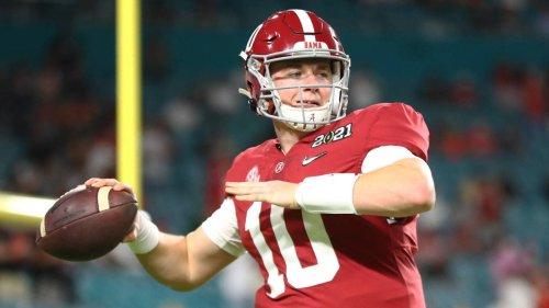QB Mac Jones compares draft profile to Tom Brady's
