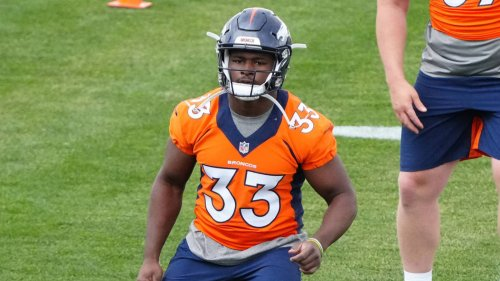 Broncos sign second-round RB Javonte Williams to rookie deal
