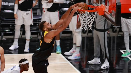 Rudy Gobert sets Jazz record in win over Clippers in Game 2