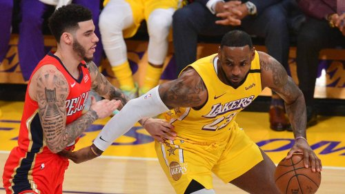 LeBron James, Lonzo Ball spark speculation with tweets to each other