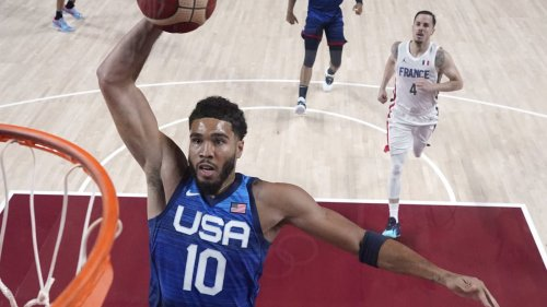 Team USA blows lead against France for first Olympic loss since 2004