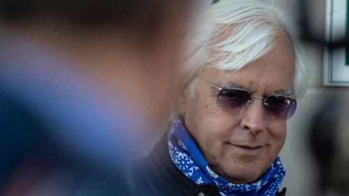 Trainer Bob Baffert suspended, banned from entering horses in Belmont