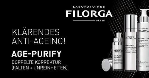 FILORGA AGE-PURIFY Pflegeroutine gegen Falten & Unreinheiten