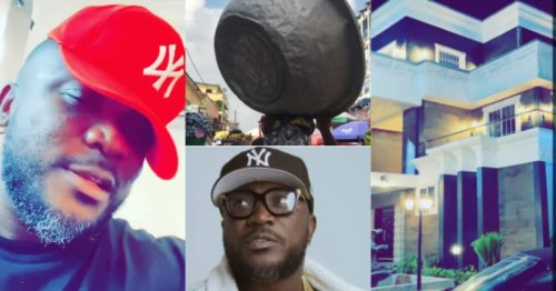 From kayayo to owner of mansion: Rapper Nhyiraba shares grass to grace story