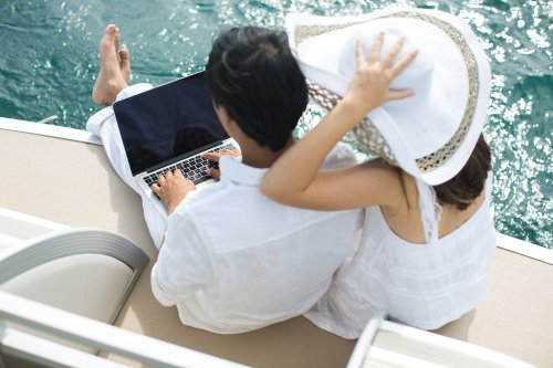 Work Remotely From A Yacht | Live The Dream — YFS Magazine