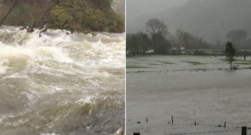 Flood warnings for Cumbria and Scotland as month's worth of rain set to fall in 24 hours