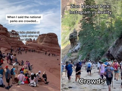 Disneyland-like crowds flooding national parks could cause some parks to close their gates