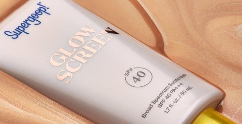 This Tinted Face Sunscreen Makes Your Skin Glow Like Nobody's Business, No Makeup Required