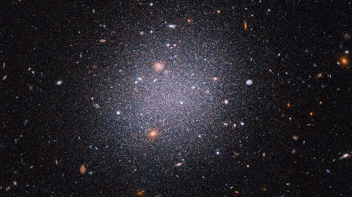 A strange galaxy 72 million light-years away seems to be missing its dark matter