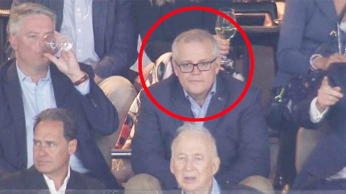 'Love to see it': Fans savage Scott Morrison after AFL appearance