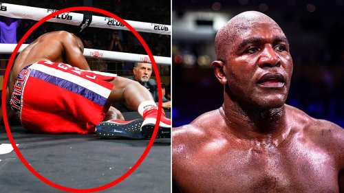 Evander Holyfield's horror return a 'stain on boxing'