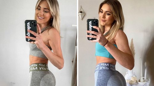 Woman's incredible booty transformation after learning to eat more