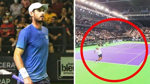 'Difficult to watch': Fans gutted over 'worrying' Andy Murray showing