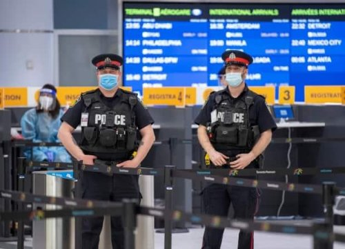 More than 500 air passengers fined for defying hotel quarantine rules after landing in Vancouver and Toronto