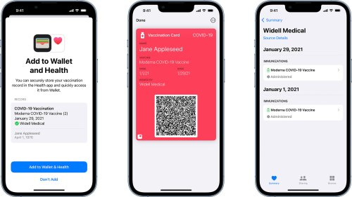 Apple Wallet is getting verifiable COVID-19 vaccination cards   Engadget