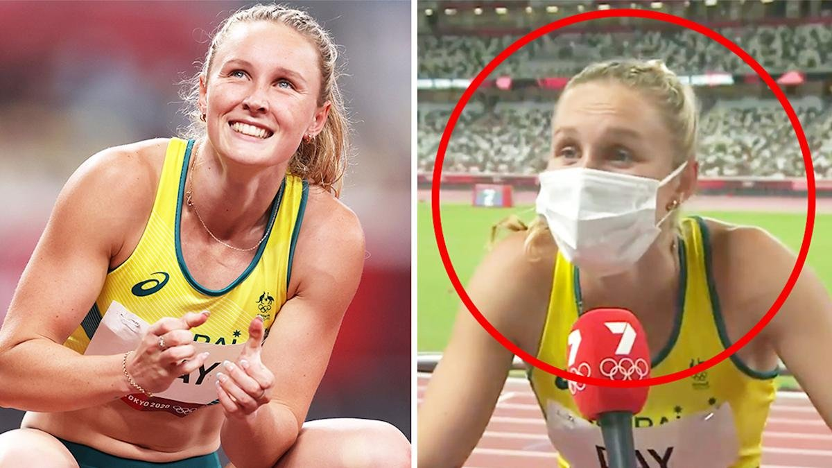 Australia loses it over Olympian's live act
