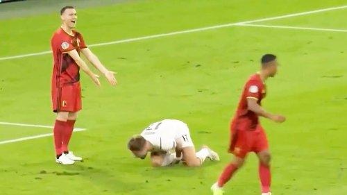 'Pathetic': Sport world slams 's**thousery' in baffling Euro 2020 theatrics
